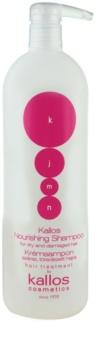 Kallos KJMN поживний шампунь для сухого або пошкодженого волосся