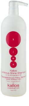 Kallos KJMN champô iluminador para cabelo seco e sensível