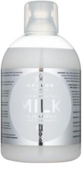 Kallos KJMN šampón pre suché a poškodené vlasy