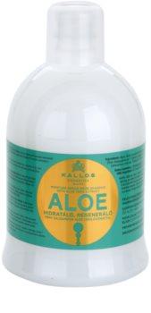 Kallos KJMN szampon odbudowujący włosy z aloesem