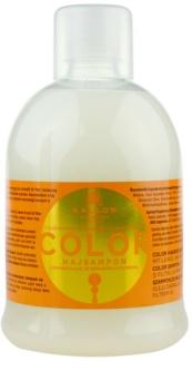 Kallos KJMN szampon do włosów delikatnych i farbowanych