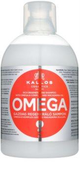 Kallos KJMN regenerační šampon s omega-6 komplexem a makadamia olejem