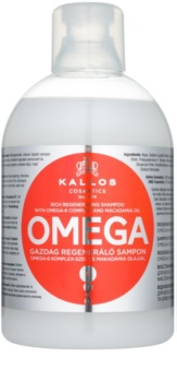 Kallos KJMN Regenerating Shampoo With Omega-6 Complex And Macadamia Oil