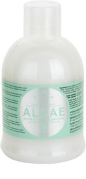 Kallos KJMN szampon nawilżający z wyciągiem z alg i olejem z oliwek