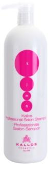 Kallos KJMN nährendes Shampoo zur Erneuerung und Stärkung der Haare
