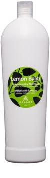 Kallos Lemon shampoing pour cheveux normaux à gras