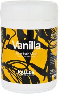 Kallos Vanilla maseczka  do włosów suchych