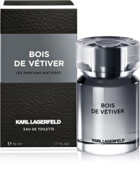 Karl Lagerfeld Bois de Vétiver Eau de Toilette voor Mannen 50 ml