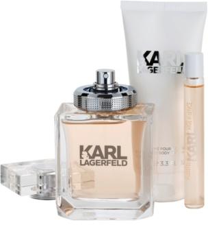 Karl Lagerfeld Karl Lagerfeld for Her zestaw upominkowy III.