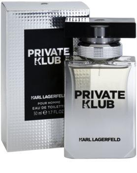 Karl Lagerfeld Private Klub туалетна вода для чоловіків 50 мл