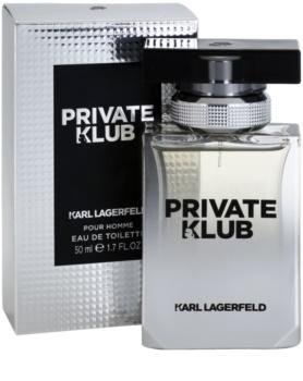 Karl Lagerfeld Private Klub toaletná voda pre mužov 50 ml
