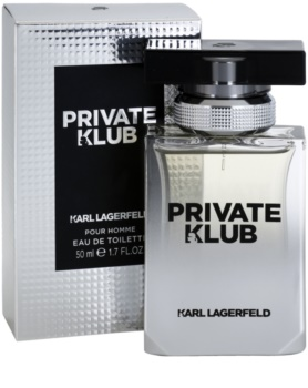 Karl Lagerfeld Private Klub toaletní voda pro muže 50 ml