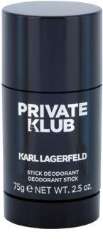 Karl Lagerfeld Private Klub Deodorant Stick for Men 75 g
