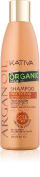 Kativa Argan Oil ochranný šampón na lesk a hebkosť vlasov