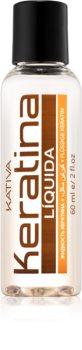Kativa Keratina vyživující olej pro lesk a hebkost vlasů