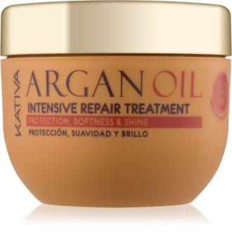 Kativa Argan Oil intenzív regeneráló ápolás a fénylő és selymes hajért