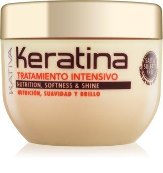 Kativa KATIVA Keratina hĺbkovo posilňujúca maska na vlasy pre všetky typy vlasov