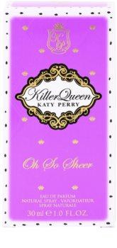 Katy Perry Killer Queen Oh So Sheer Parfumovaná voda pre ženy 30 ml