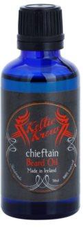 Keltic Krew Chieftain olje za brado z vonjem mete in cimeta