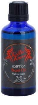 Keltic Krew Warrior olje za brado z vonjem sandalovine