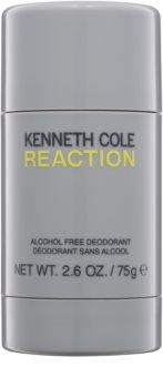 Kenneth Cole Reaction desodorizante em stick (sem álcool) para homens 75 g