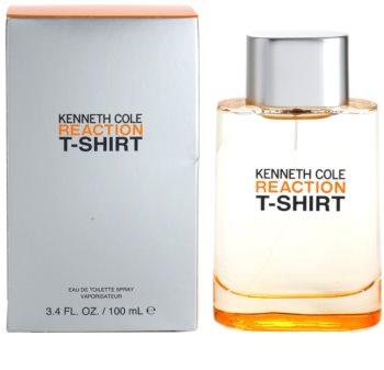 Kenneth Cole Reaction T-shirt eau de toilette pentru barbati 100 ml