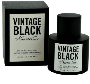 Kenneth Cole Vintage Black Eau de Toilette para homens 100 ml