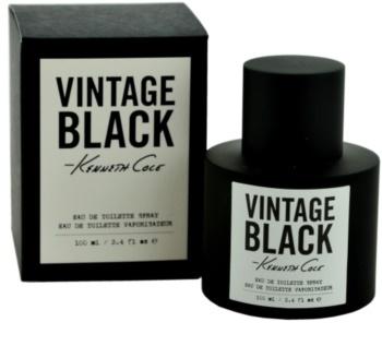 Kenneth Cole Vintage Black eau de toilette pentru bărbați 100 ml