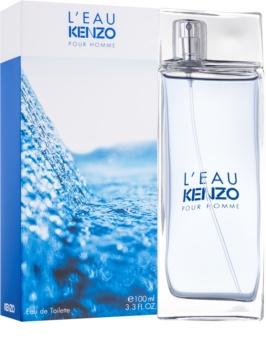Kenzo L'Eau Kenzo Pour Homme Eau de Toilette voor Mannen 100 ml
