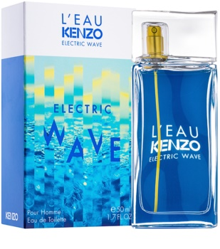 Kenzo L'Eau Electric Wave Eau de Toilette für Herren 50 ml