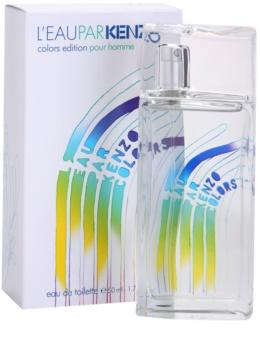 Kenzo L'Eau Par Kenzo Colors Edition Pour Homme Eau de Toilette para homens 50 ml
