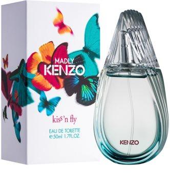 Kenzo Madly Kenzo Kiss'n Fly Eau de Toilette voor Vrouwen  50 ml