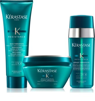 Kérastase Résistance Thérapiste Cosmetic Set (For Damaged Hair)