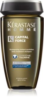 Kérastase Homme Capital Force Shampoo for Men Against Hair Loss And Danruff