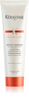 Kérastase Nutritive Nectar Thermique glättende und nährende Hitzeschutzmilch für trockenes Haar
