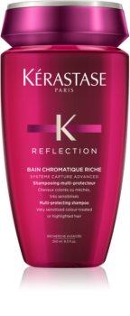 Kérastase Reflection Bain Chromatique Riche захисний та поживний шампунь для фарбованого та ослабленого  волосся