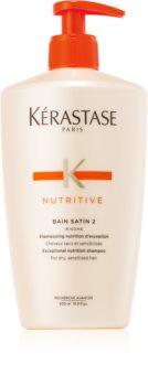 Kérastase Nutritive Bain Satin 2 intenzív tápláló sampon száraz hajra