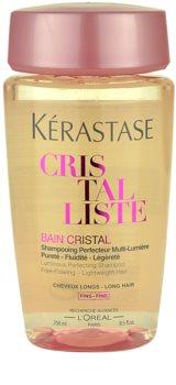 Kérastase Cristalliste Bain Cristal lehká šamponová lázeň pro lesk, přirozenost a výživu vlasů
