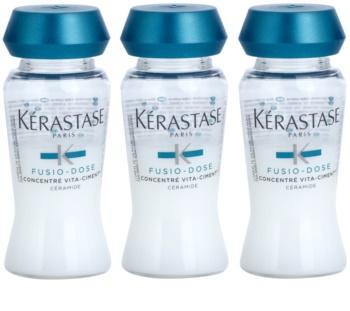 Kérastase Fusio-Dose intenzívna posilňujúca kúra pre poškodené vlasy