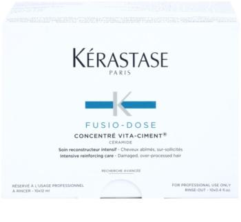 Kérastase Fusio-Dose інтенсивний зміцнюючий догляд для пошкодженого волосся