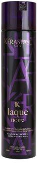 Kérastase K Noire lak na vlasy ve formě mlhy s extra silnou fixací