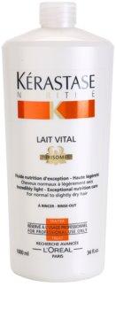 Kérastase Nutritive Lait Vital tratamento nutritivo suave para cabelos normais a ligeiramente secos