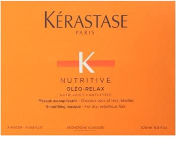 Kérastase Nutritive Oléo-Relax розгладжуюча маска для сухого та неслухняного волосся