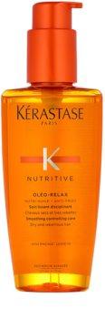 Kérastase Nutritive Oléo-Relax Glättende Finishpflege für einfachen Umgang mit trockenen und widerspenstigen Haaren