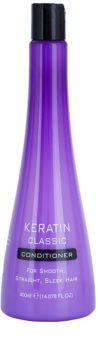Keratin Classic Smooth condicionador para cabelos crespos e inflexíveis