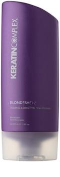 Keratin Complex Blondeshell tápláló kondícionáló a szőke és melírozott hajra