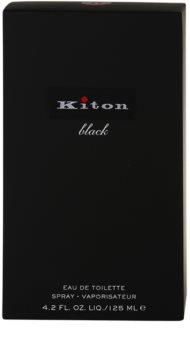 Kiton Kiton Black Eau de Toillete για άνδρες 125 μλ