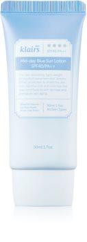 Klairs Mid-day Blue mleko za sončenje za obraz SPF 40