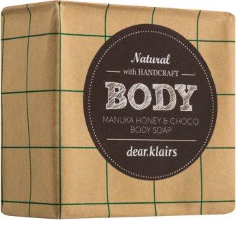 Klairs Manuka Honey & Choco tuhé mýdlo na tělo