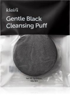 Klairs Gentle Black čistilna gobica za obraz